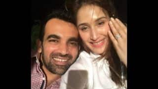 Zaheer Khan gets engaged to Sagarika Ghatge