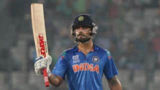 Kohli down to No. 3 in ICC Rankings