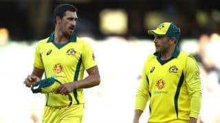 Cricket World Cup 2019: Aaron Finch puts faith in Mitchell Starc and Pat Cummins as Australia chase aggression