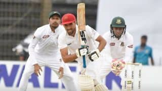 Only Test: Ibrahim Zadran leads the charge to put Afghanistan in command