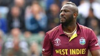 Cricket World Cup 2019: West Indies allrounder Andre Russell ruled out of World Cup