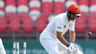 One-off Test: Rahmat Shah falls on 98; Afghanistan lead by 70 at tea