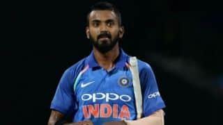 इंटरनेशनल क्रिकेट में शतक का सूखा खत्म्ा कर खुश हैं केएल राहुल