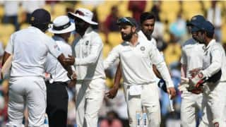 Photos: India vs Sri Lanka, 2nd Test, Day 4 at Nagpur