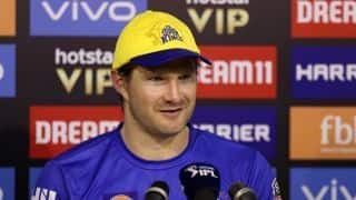 Can't thank Dhoni and Fleming enough for showing faith in me: Shane Watson