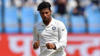 1st Test, Day 3, Tea report: Kuldeep's maiden five-for brings India within striking distance