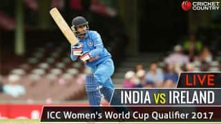 Live Cricket Score, IND vs IRE, ICC Women's World Cup Qualifier 2017, Match 11: IND W win by 125 runs