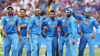India vs Australia 2015-16, 3rd ODI at Melbourne: Visitors' likely XI