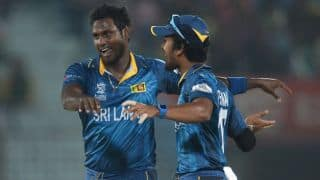 ICC World T20 2014: Don't know if Dinesh Chandimal will play final, says Angelo Mathews