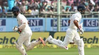 Tea Report: Virat Kohli, Cheteshwar Pujara power India to 210-2 against England in 2nd Test, Day 2