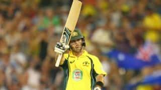 Glenn Maxwell likely to miss India vs Australia 2015-16, 5th ODI at Sydney