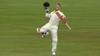 David Warner reaches 7th Test ton in style