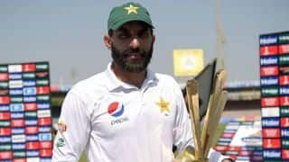 Misbah-ul Haq to play dual role of coach, chief selector in Pakistan cricket team