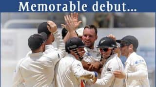 Mark Craig creates history for New Zealand against West Indies in the 1st Test at Jamaica