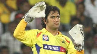 Dhoni accepts he was thinking of