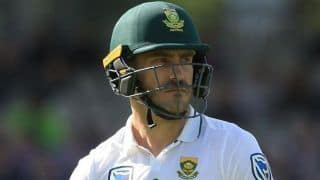 Faf du Plessis misses flight to India, livid with British airways