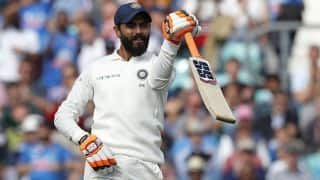 England solid after Ravindra Jadeja's rescue act
