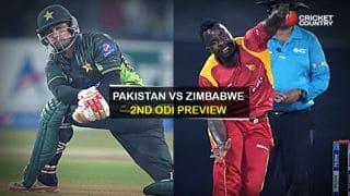 Pakistan vs Zimbabwe 2015, 2nd ODI at Lahore: Preview