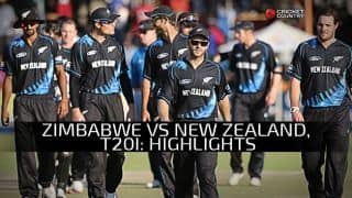 Zimbabwe vs New Zealand, one-off T20I at Harare: George Worker's 62 and other Highlights