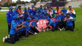 Phanse, Sante star as India beat England to win Physical Disability World Series T20