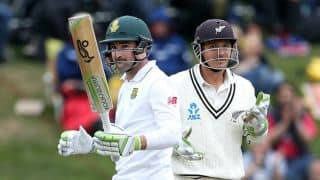 New Zealand vs South Africa,1st test, Day 4, tea: Dean Elgar's fifty puts Proteas in commanding position