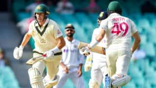 सिडनी टेस्ट: शतक के करीब पहुंचे स्मिथ, लंच तक AUS 249/5