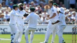 South Africa announce 15-member squad for 1st Test against India; Chris Morris returns