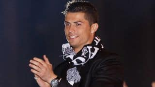 Cristiano Ronaldo thanks fans for warm reception during Portugal's training session in FIFA World Cup 2014