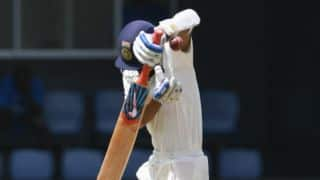 West Indies restrict India to 130-5 at tea on Day 1, 3rd Test
