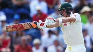 Steven Smith's dismissal puts England in command against Australia on Day 4 of 1st Ashes 2015 Test at Cardiff