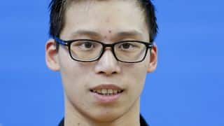 Chinese National Championships 2016: Li Zhuhao scores national record in swimming