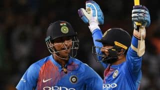 Virat Kohli, Sachin Tendulkar, Sourav Ganguly, Harbhajan Singh, and others laud Dinesh Karthik for gifting India Nidahas Trophy 2018