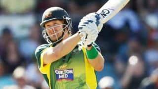 Australia vs England, 1st ODI in Sydney: Shane Watson dismissed
