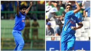 Fun playing alongside Ashish Nehra, says Jasprit Bumrah