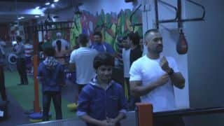 When Captain Dhoni met young Dhoni