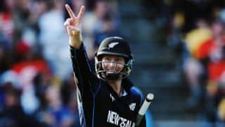 Martin Guptill emulates Craig McMillan during New Zealand-West Indies ICC Cricket World Cup 2015 quarter-final