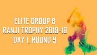 Ranji Trophy 2018-19, Round 9, Elite B, Day 1: Andhra bowled out for 132