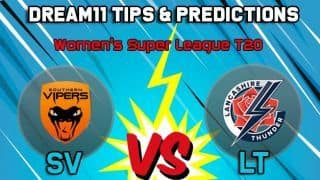 SV vs LT Dream11 Team Southern Vipers vs Lancashire Thunder, Women's Super League T20– Cricket Prediction Tips For Today's match at Hove