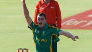 South Africa beat Zimbabwe by 61 runs in 2nd ODI at Bulawayo
