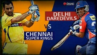 Live Cricket Score CSK vs DD IPL 2015, DD 149/9 in 20 overs (Target: 151): CSK win by 1 run