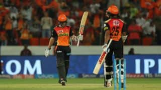 Sunrisers Hyderabad (SRH) vs Delhi Daredevils (DD), IPL 2017, Match 21: Kane Williamson's sparkling fifty and other highlights