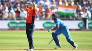 Eoin Morgan believes England were 20-30 runs short against India