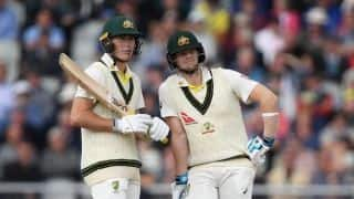Ashes 2019: Marnus Labuschagne, Steve Smith rebuild after Broad's twin strikes