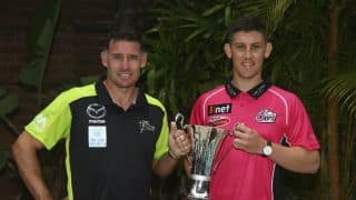 BBL 2015-16: Michael Hussey-led Sydney Thunder seek redemption in opening game vs Sydney Sixers