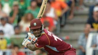 South Africa vs West Indies 2014-15: Andre Russell dismissed for 12 by Wayne Parnell
