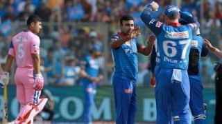 IPL 2019: Amit Mishra, Ishant Sharma restrict Rajasthan  Royals to 115/9