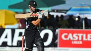 India vs New Zealand 2014, 1st ODI at Napier: Kane Williamson gets fifty, New Zealand 113/2 in 25.1 overs