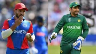 AFG vs PAK, Match 36, Cricket World Cup 2019, Afghanistan vs Pakistan LIVE streaming: Teams, time in IST and where to watch on TV and online in India