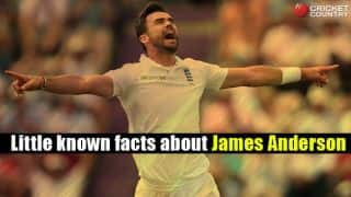 15 things you didn't know about James Anderson