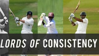Kumar Sangakkara becomes 4th batsman to score fifties in 7 consecutive Test innings
